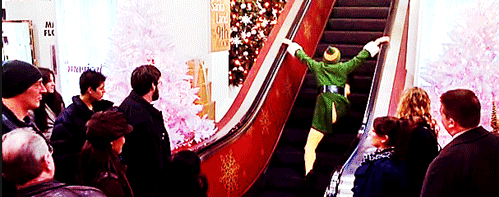 Image result for elf escalator