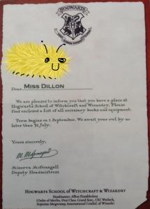 new hogwarts letter