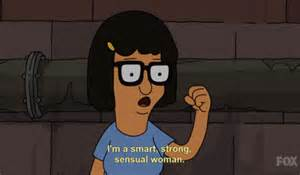 strong smart sensual woman