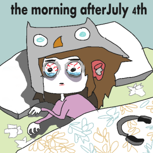 morning after july 4