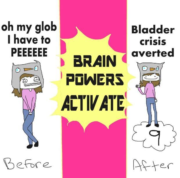 BRAIN POWERS ACTIVATE