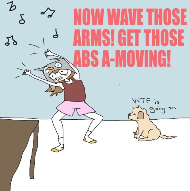 wave those arms!