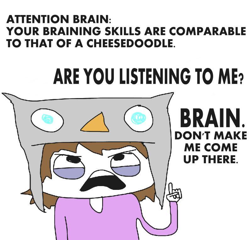 attention-brain